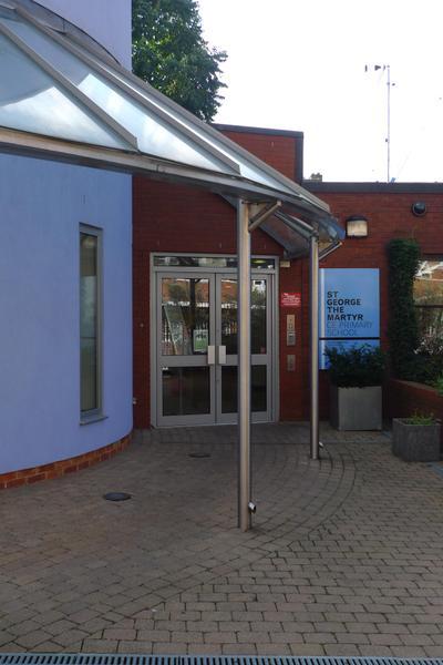 Front Entrance via Johns Mews
