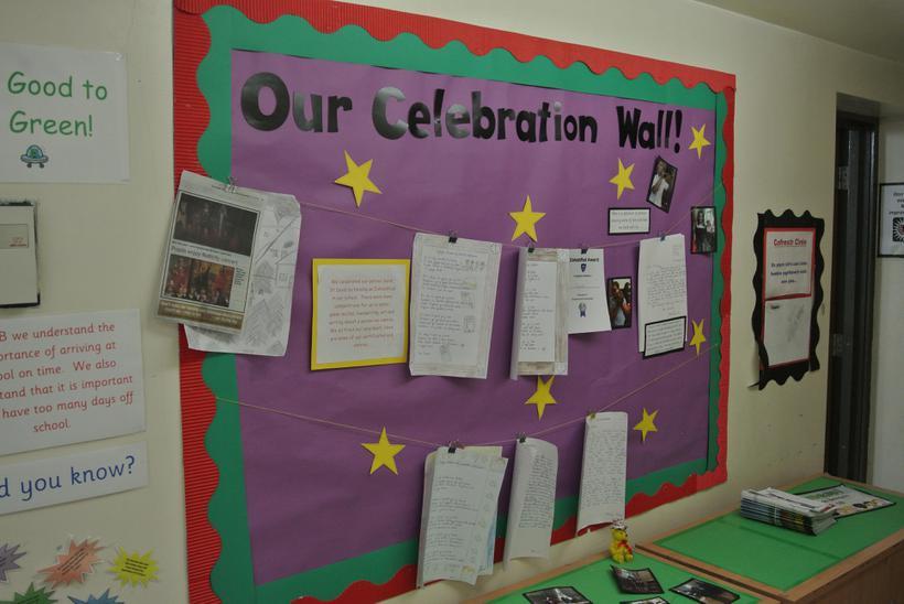 Year 6 Celebration Wall
