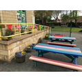 Colourful Outdoor Seating