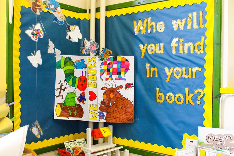 Foundation Phase Book Corner