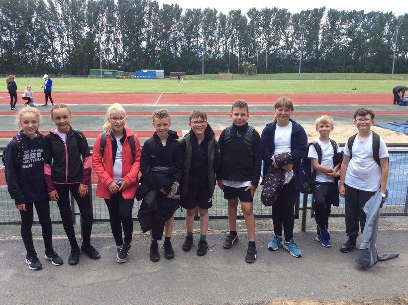 Year 5 Athletics Team