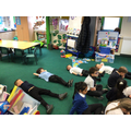 We relaxed and tried to think about 'The here and now'.