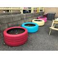 Our Tyre Garden