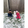 Callum and Elsee's Snowman