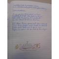 Michael - Handwriting practice