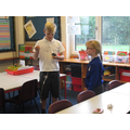 We were visited by a magician, Noah from year 5!