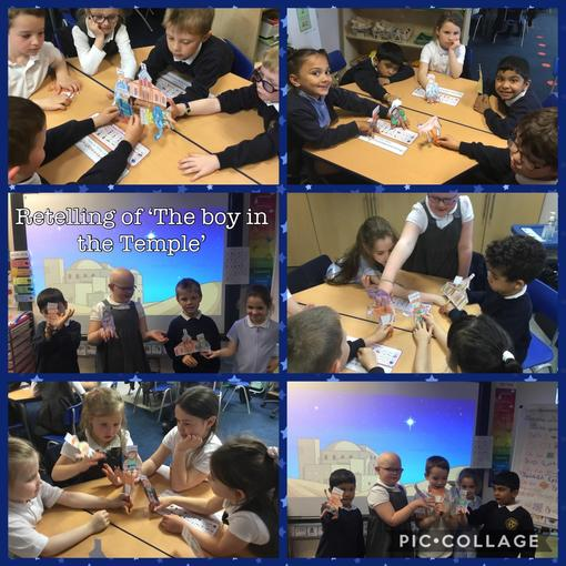 Retelling the story of 'The boy in the temple'