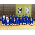 Our Year 6&5 athletics team.