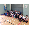 Our KS2 cross country team