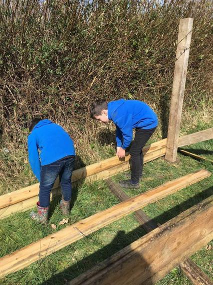 CP building a 'man cave' in his garden