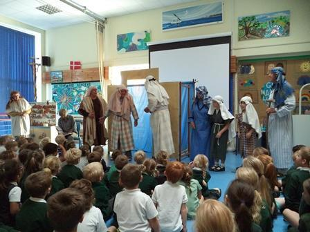Fabulous Bible story telling with Open the Book