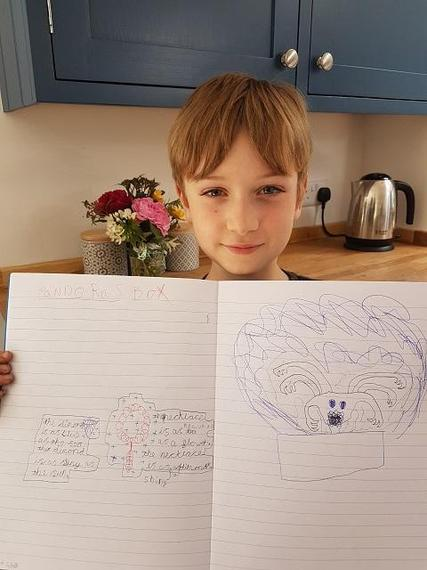 WD (Puma) with his excellent drawing