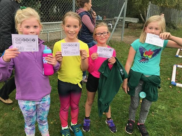 Successful runners from our school