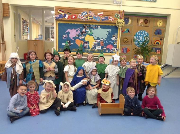 Our Ocelot Class Nativity