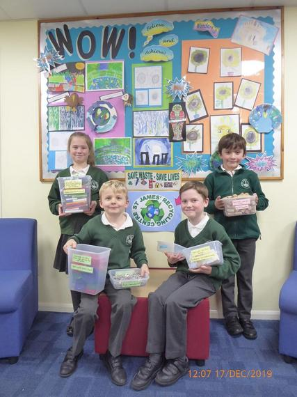 Our recycling initiative has been a great success