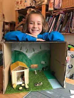 MB (Puma) with her Anglo Saxon village