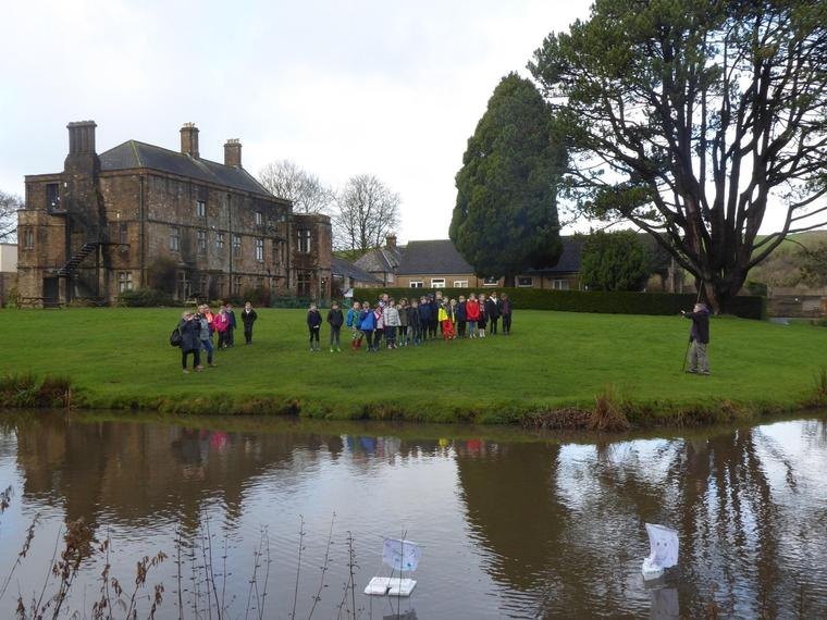Our Year 4's had a great time at Hooke Court