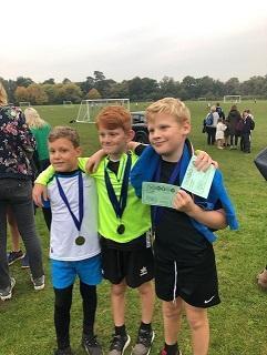 Proud medal winners