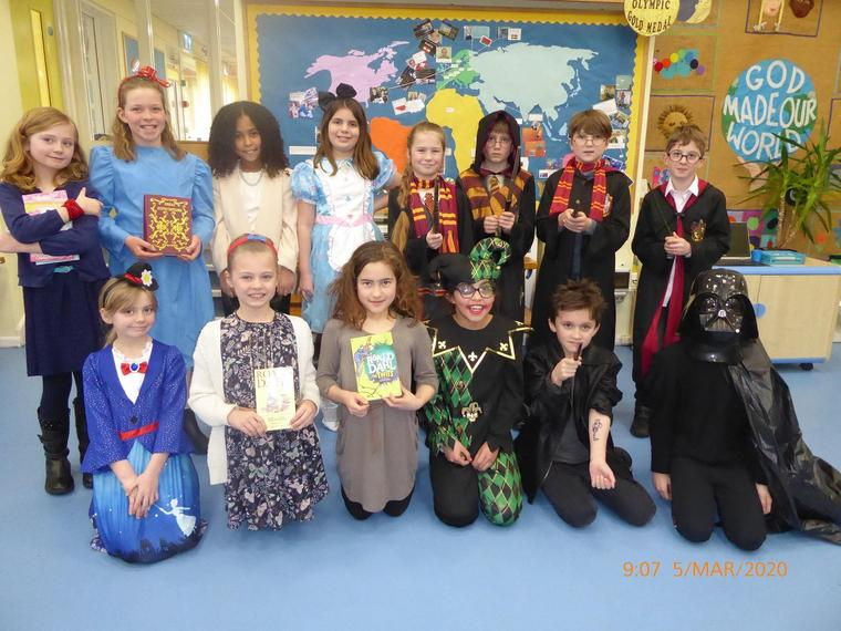World Book Day - Snow Leopard Class