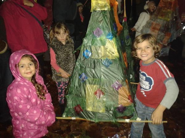 Salisbury Christmas Market Lantern Procession