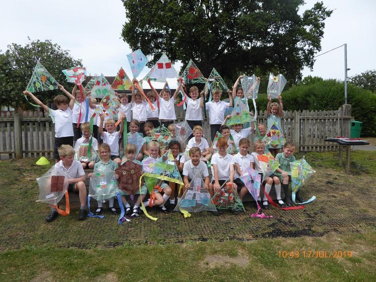 Puma class and the finished kites