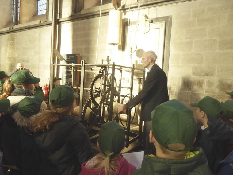 Learning about how the cathedral worked