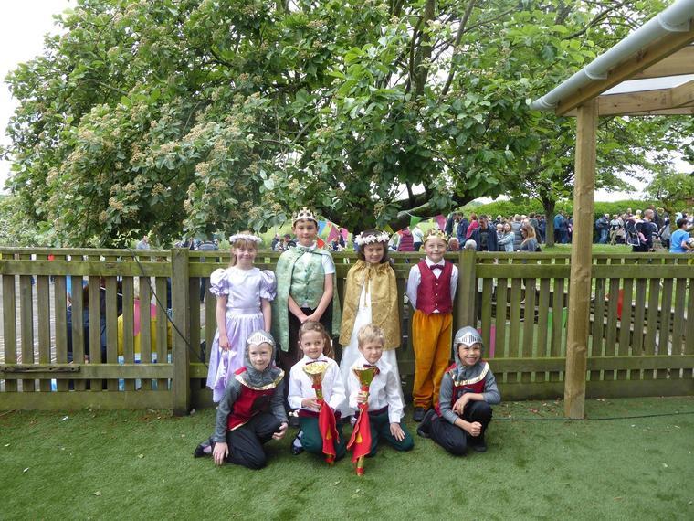 Our 'Royal Family' at the May Fayre