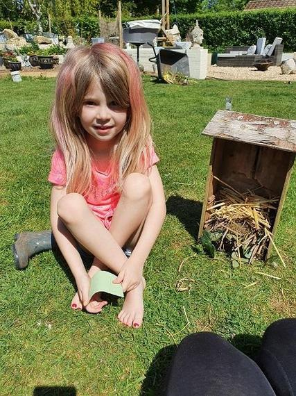 Another brilliant bug hotel completed