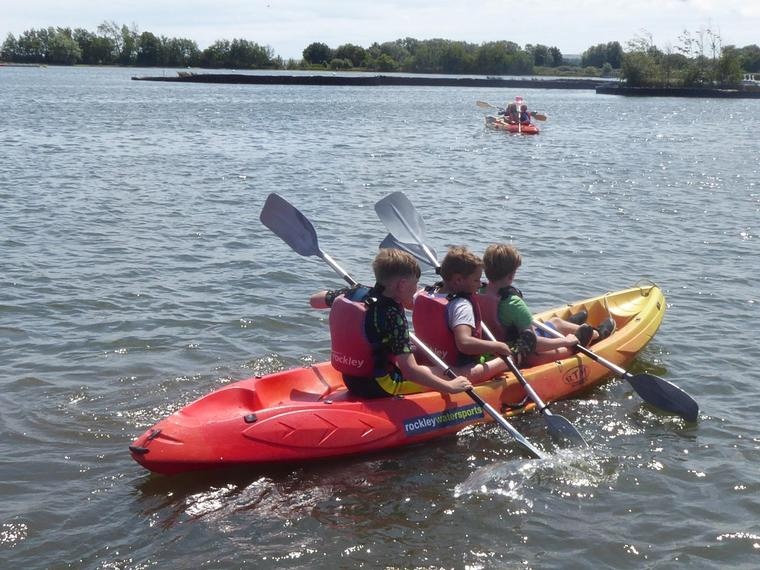 Learning to paddle in time!