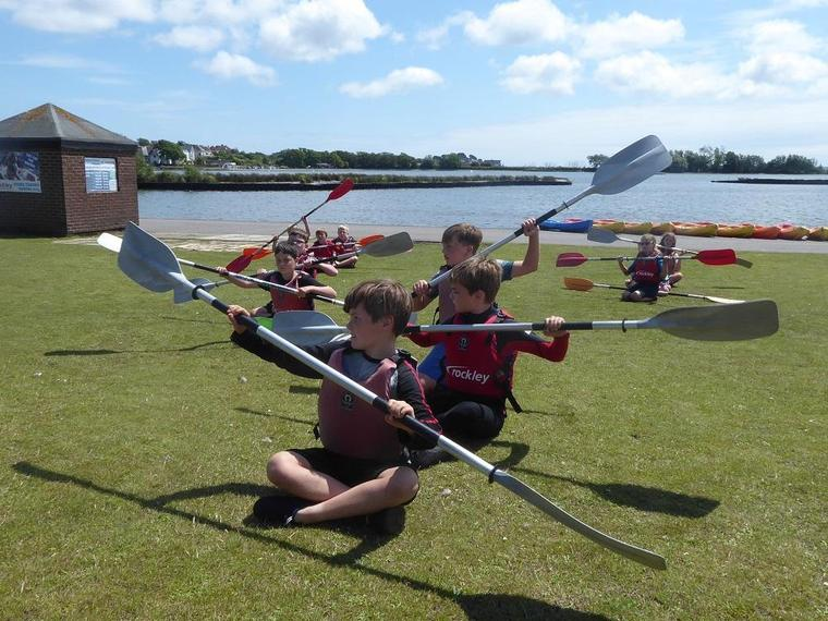 Year 4 Rockley Watersports Day