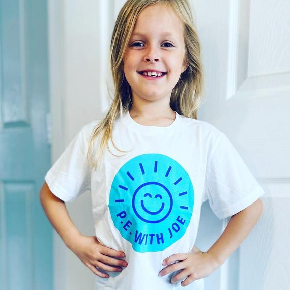 TC (Puma) proudly wearing her Joe Wicks t-shirt