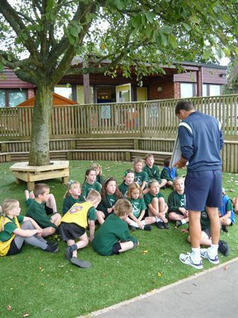 Puma Class learning new skills with FA coach