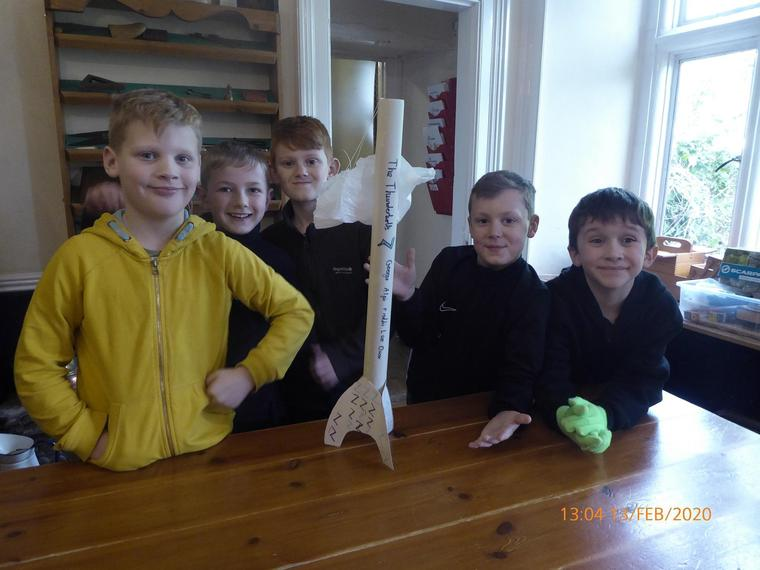 Excellent rocket making