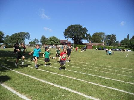 More than enough room on our field for sports day