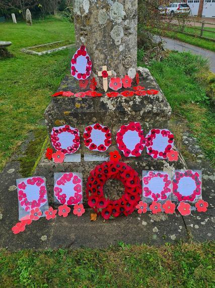 Hinton Martell Church memorial