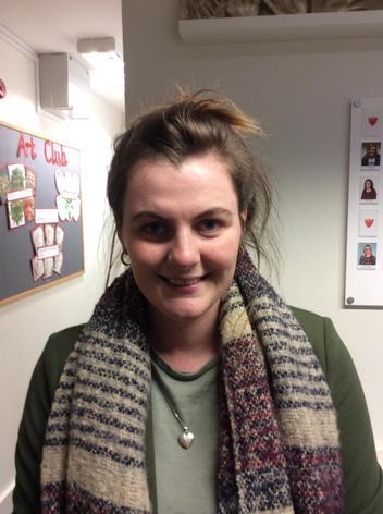 Miss E Radley, Welfare Assistant