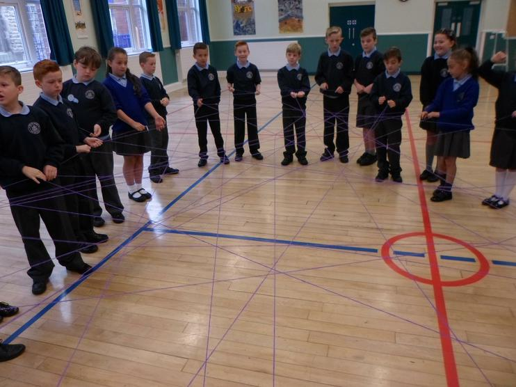 Team building skills with Year 5