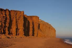 The cliffs that became famous in Broadchurch
