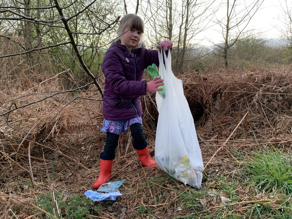 Day's walk and litter collection