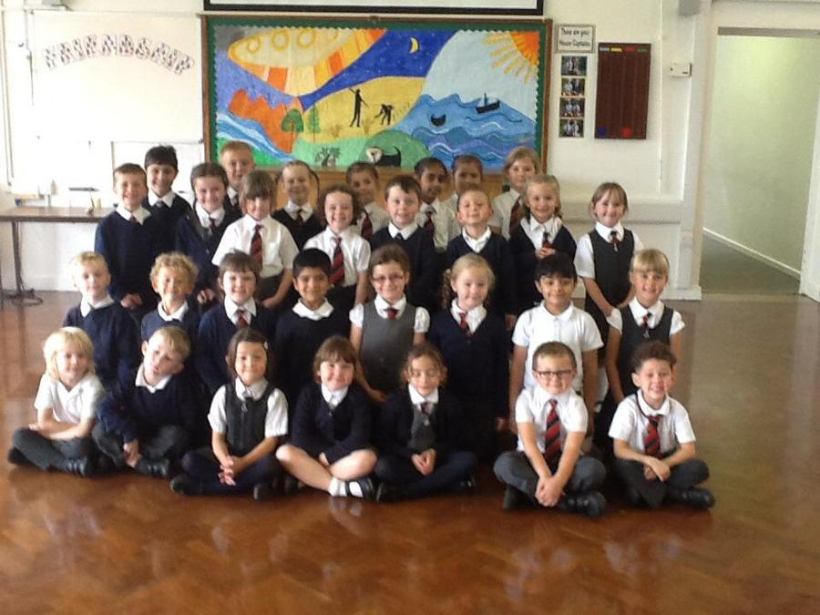 A big hello from Year 1!