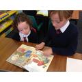 Y5 reading with Y1