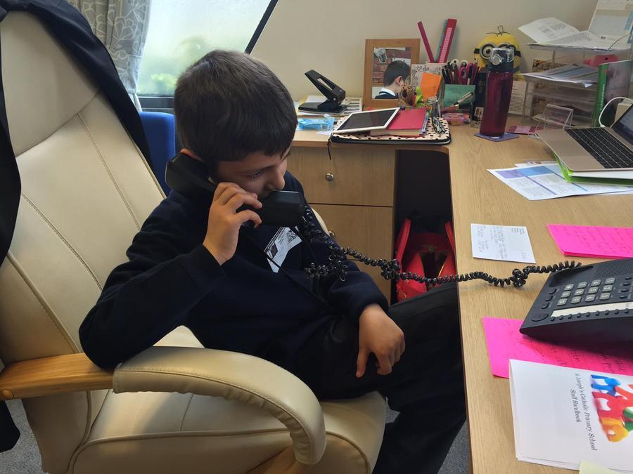 Making important phone calls