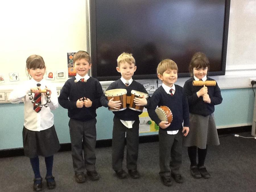 Here are our fabulous musicians.