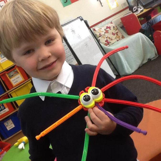 Creating creatures with k'nex,