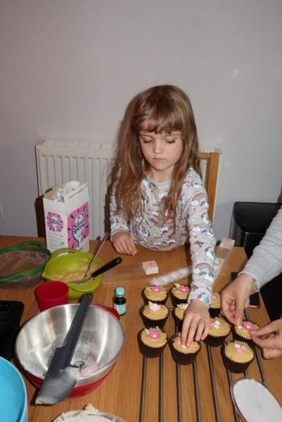 Layla has done some yummy baking.
