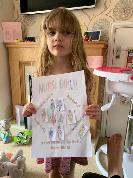 Layla has made a lovely poster.