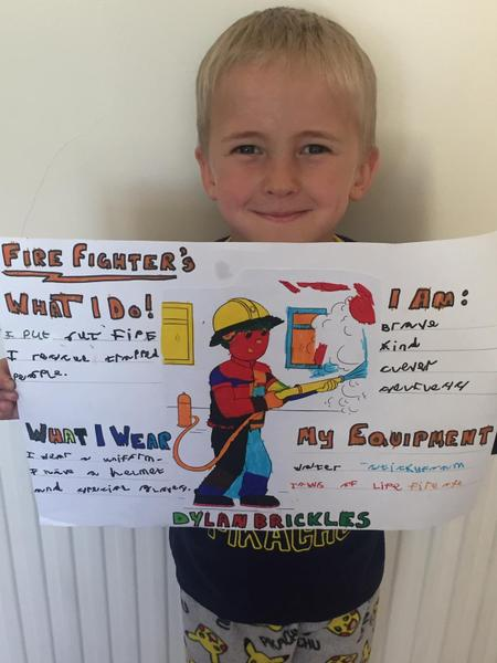 What a great piece of firefighter work Dylan :)