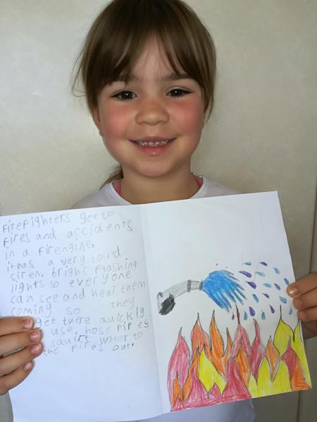 and done some super writing! Well done Erin. :)