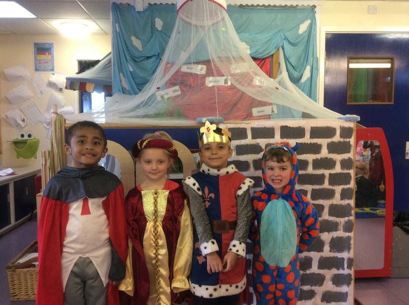We loved dressing up!