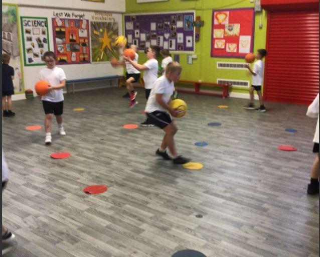 PE -Netball skills